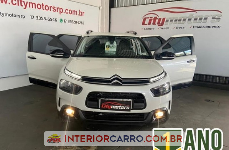CITROËN C4 CACTUS 1.6 VTI 120 FLEX FEEL PACK EAT6 Usado