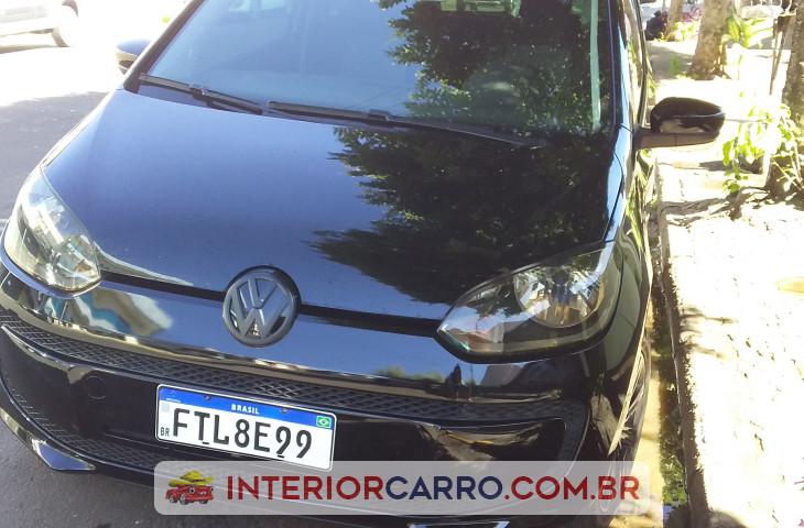Volkswagen Up 1.0 Mpi Take Up 12v Flex 2p Manual Preto Flex 2015 Usado