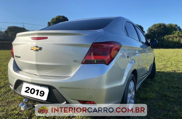Chevrolet Prisma 1.4 Mpfi Lt 8v Flex 4p Manual Prata Flex 2019 Usado